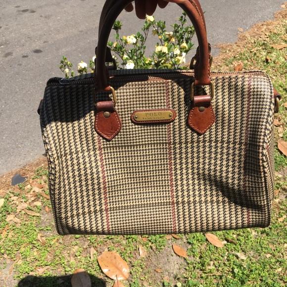 9660604222 Vintage Ralph Lauren Polo Purse. M 5ae4c8368af1c56ea936dbb0